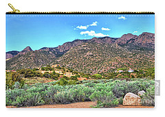The Sandias Carry-all Pouch by Gina Savage