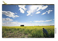The Saskatchewan Prairies Carry-all Pouch
