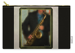 The Sax Player Carry-all Pouch