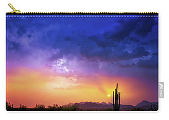 Carry-all Pouch featuring the photograph The Scent Of Rain by Rick Furmanek