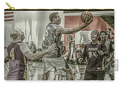 Carry-all Pouch featuring the photograph The Scoop Shot by Ronald Santini