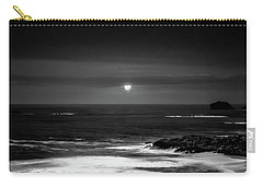 The Sea By Night Carry-all Pouch by Martina Fagan