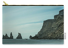 The Sea Stacks Of Vik, Iceland Carry-all Pouch