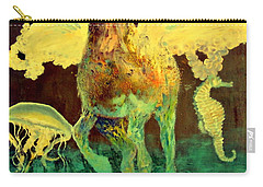 The Seahorse Carry-all Pouch by Henryk Gorecki