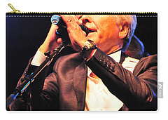 Carry-all Pouch featuring the photograph The Searcher's Sensational Singer by Mike Martin