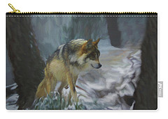 The Searching Wolf Carry-all Pouch