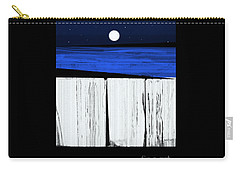 The Seawalls No.4 Full Moon Rising Carry-all Pouch