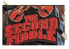 Carry-all Pouch featuring the photograph The Second Fiddle Nashville by Stephen Stookey