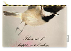 Carry-all Pouch featuring the photograph The Secret by Darren Fisher