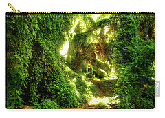 Carry-all Pouch featuring the photograph The Secret Garden, Perth by Dave Catley
