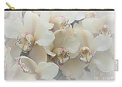 The Secret To Orchids Carry-all Pouch by Sherry Hallemeier