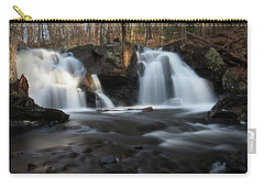 The Secret Waterfall In Golden Light Carry-all Pouch