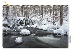 The Secret Waterfall In Winter 2 Carry-all Pouch