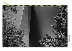 Carry-all Pouch featuring the photograph The Sensuous Secret Portal At Disney Hall by Lorraine Devon Wilke