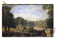 The Serpentine Carry-all Pouch by Jasper Francis Cropsey