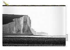 Carry-all Pouch featuring the photograph The Seven Sisters, Sussex England  by Will Gudgeon