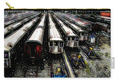The Seven Train Yard Queens Ny Carry-all Pouch