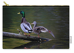 Carry-all Pouch featuring the photograph The Seventh Inning Stretch by Gary Hall