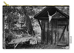 Carry-all Pouch featuring the photograph The Shack by Wade Courtney