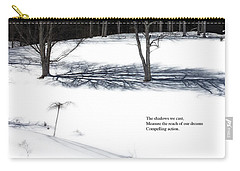 The Shadows We Cast Haiku Carry-all Pouch