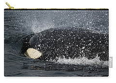 Carry-all Pouch featuring the photograph The Shake - Wildlife Art by Jordan Blackstone