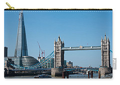 The Shard With Tower Bridge Carry-all Pouch