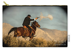 The Sharp Shooter Western Art By Kaylyn Franks Carry-all Pouch
