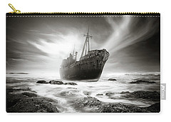 The Shipwreck Carry-all Pouch by Marius Sipa