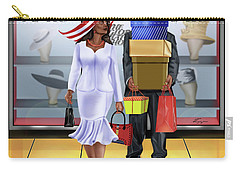 The Shopping Spree In Style Carry-all Pouch