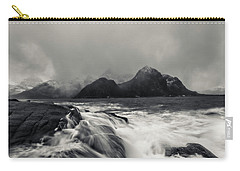 Carry-all Pouch featuring the photograph The Shore Of Winter by Alex Lapidus