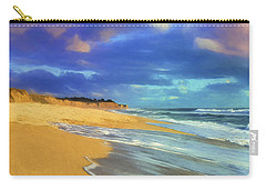 The Shoreline At Half Moon Bay Carry-all Pouch