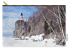 The Shoreline Lighthouse Carry-all Pouch by Maciek Froncisz