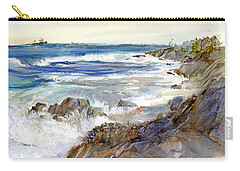 The Shores Of Falmouth Carry-all Pouch