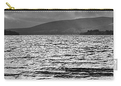 Carry-all Pouch featuring the photograph The Shores Of Loch Lubnaig by Christi Kraft