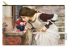 The Shrine Carry-all Pouch by John William Waterhouse