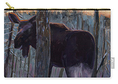 Carry-all Pouch featuring the painting The Shy One by Billie Colson