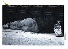 Carry-all Pouch featuring the photograph The Sidewalks Of New York by RC deWinter