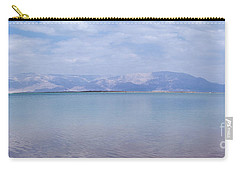 Carry-all Pouch featuring the photograph The Silence Of The Dead Sea by Yoel Koskas