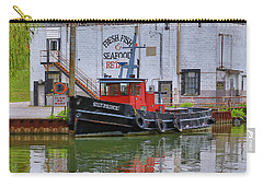 Carry-all Pouch featuring the photograph The Silt-prince by Gary Hall
