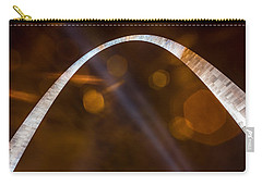 The Silver Gateway Arch Carry-all Pouch