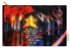 Carry-all Pouch featuring the photograph The Sisterhood by Mark Dodd