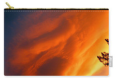 The Sky Is Burning Carry-all Pouch