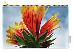 Carry-all Pouch featuring the photograph The Sky Is The Limit by Louise Lindsay
