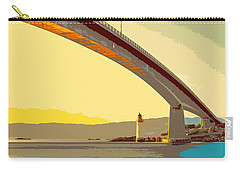 The Skye Bridge And Kyleakin Lighthouse  Carry-all Pouch