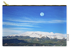 The Skyscraper That Towers Over My Hometown Reaches The Clouds At 14115 Feet Above Sea Level.  Carry-all Pouch