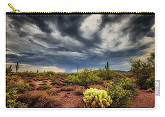 Carry-all Pouch featuring the photograph The Smell Of Rain by Rick Furmanek