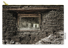 Carry-all Pouch featuring the photograph The Sod House by Brad Allen Fine Art