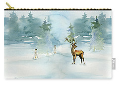 The Soft Arrival Of Winter Carry-all Pouch