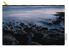The Soft Edge Of Sunset Carry-all Pouch by Alex Lapidus