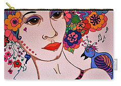 The Songbird Carry-all Pouch by Alison Caltrider